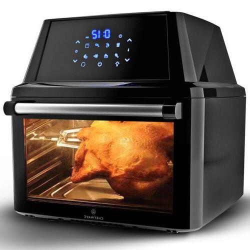 air fryer oven 16q air fryer rotisserie