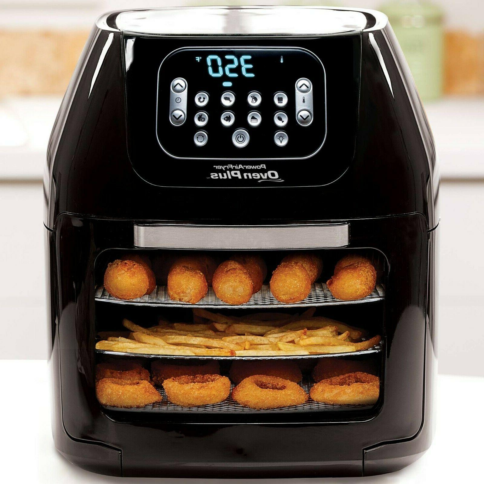 Power Air Fryer Oven All-in-One 6 Quart Plus Dehydrator Best