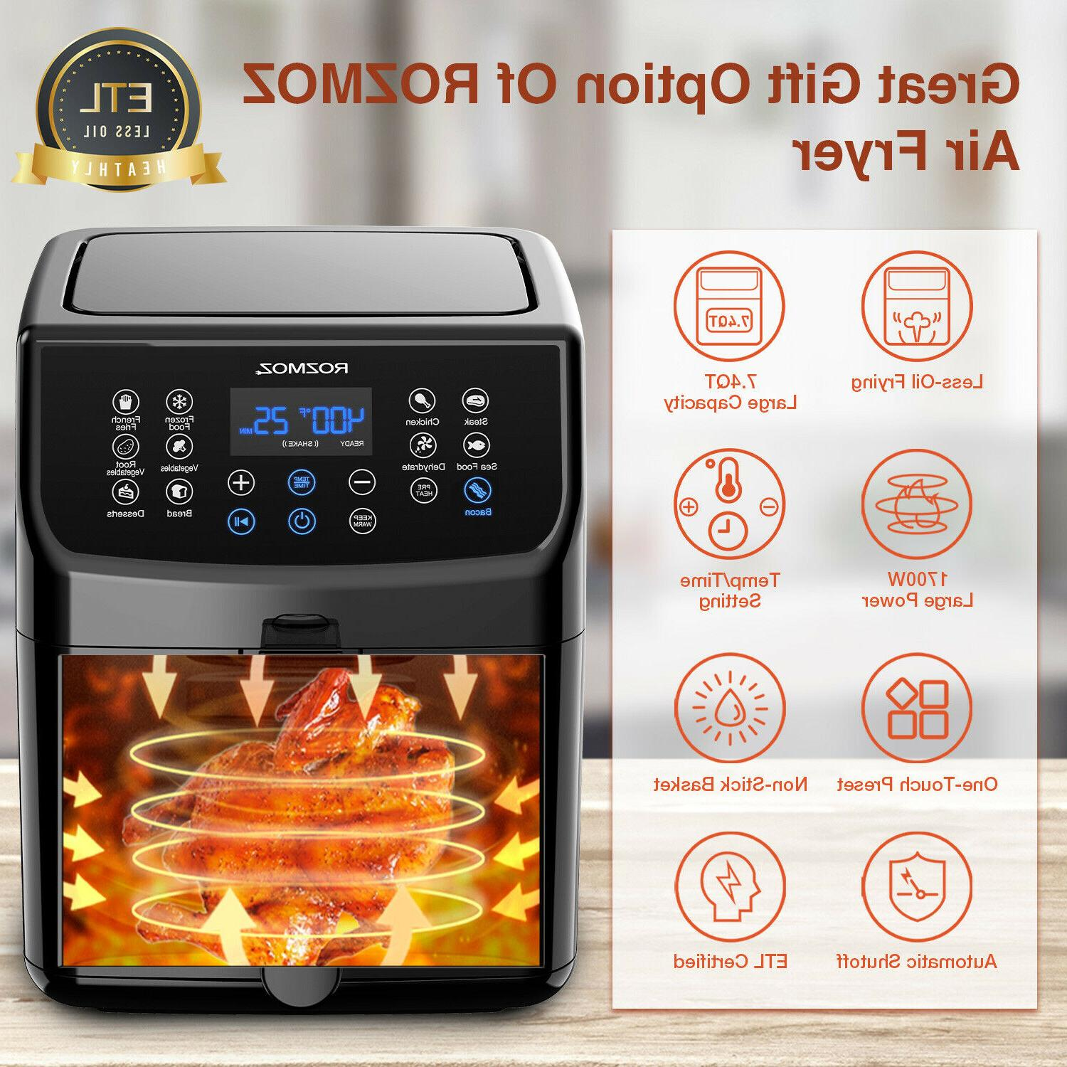 Rozmoz Air 5.8 Recipe Work Genuine Digital Touchscreen