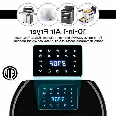 BCP 16.9qt XXXL Air Fryer Oven, Rotisserie, Dehydrator