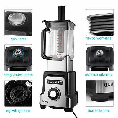 OUTAD Smoothie Maker 32000RPM High Speed Professional Countertop Ex
