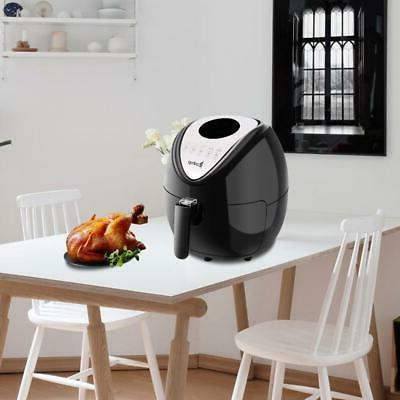 Zokop 1800W 5.6QT/5.3L Electric Air Fryer Digital Cooking He