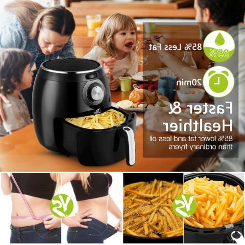5.5L Uten Digital Cooker Air Fryer Oven Cooker Kitchen