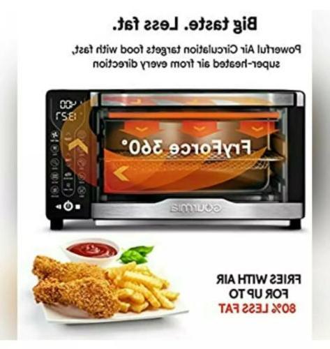Gourmia Digital Air Oven + Recipe Book