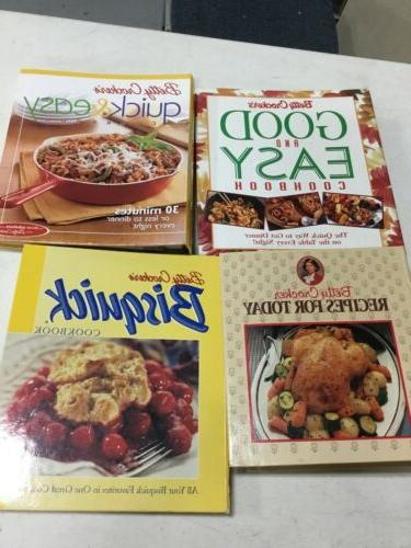Lot 5 Cookbooks Random Bundle vintage modern meat