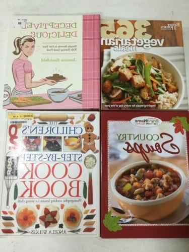 Lot of 5 Cookbooks Random modern air fryer vegan meat