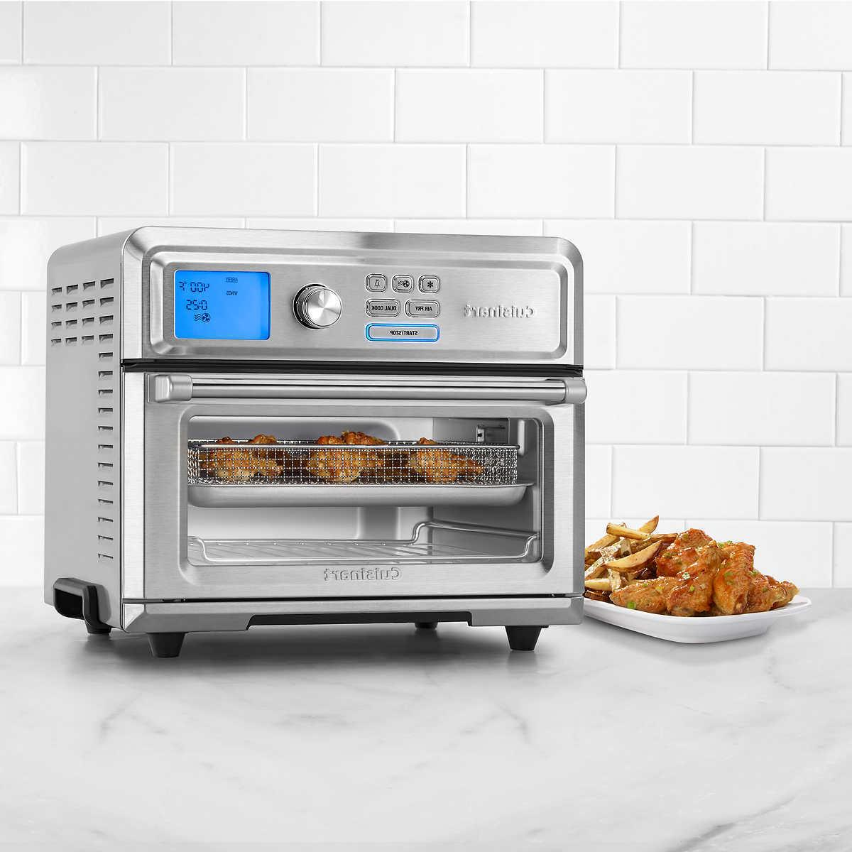 NEW CUISINART TOA-65 AIR FRYER TOASTER OVEN 7 FUNCTION 4LB C