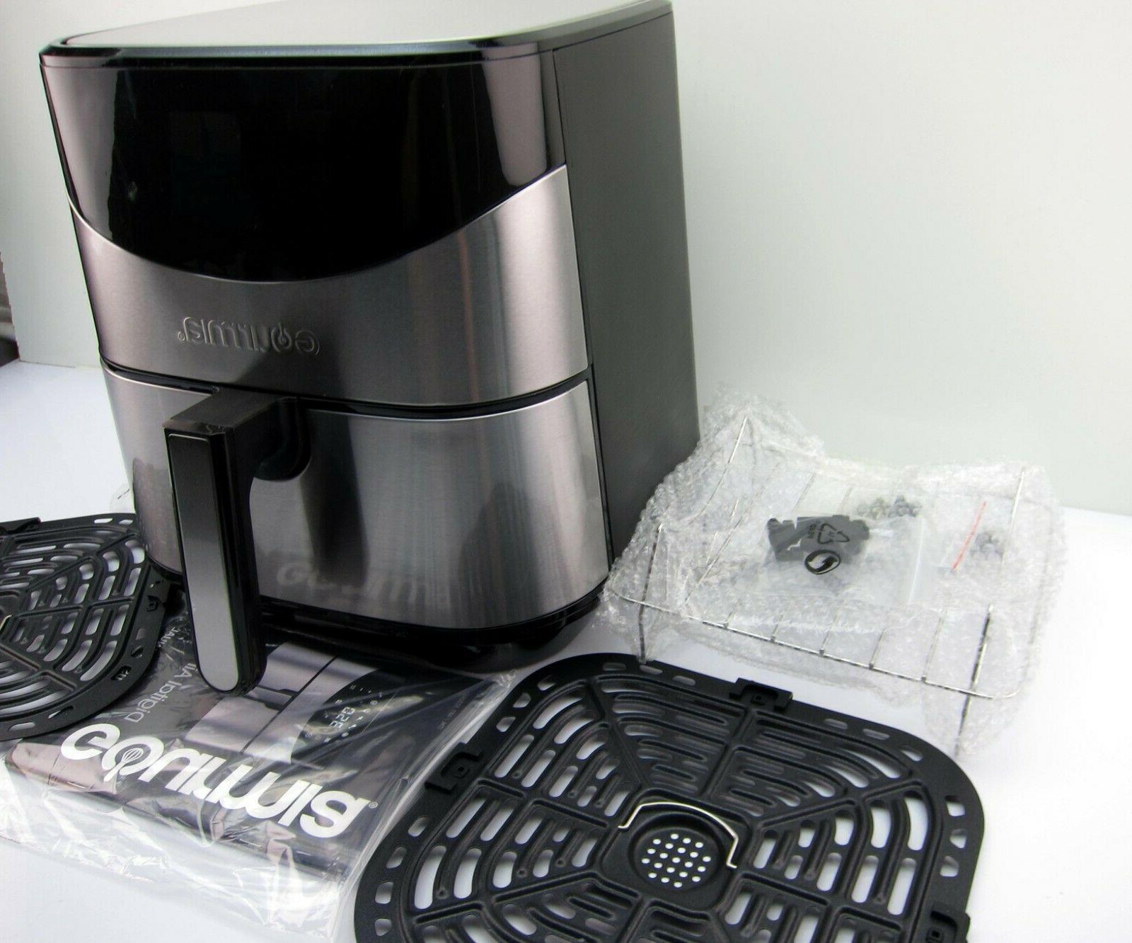 NEW GAF685 Qt. Aero Stainless Fryer