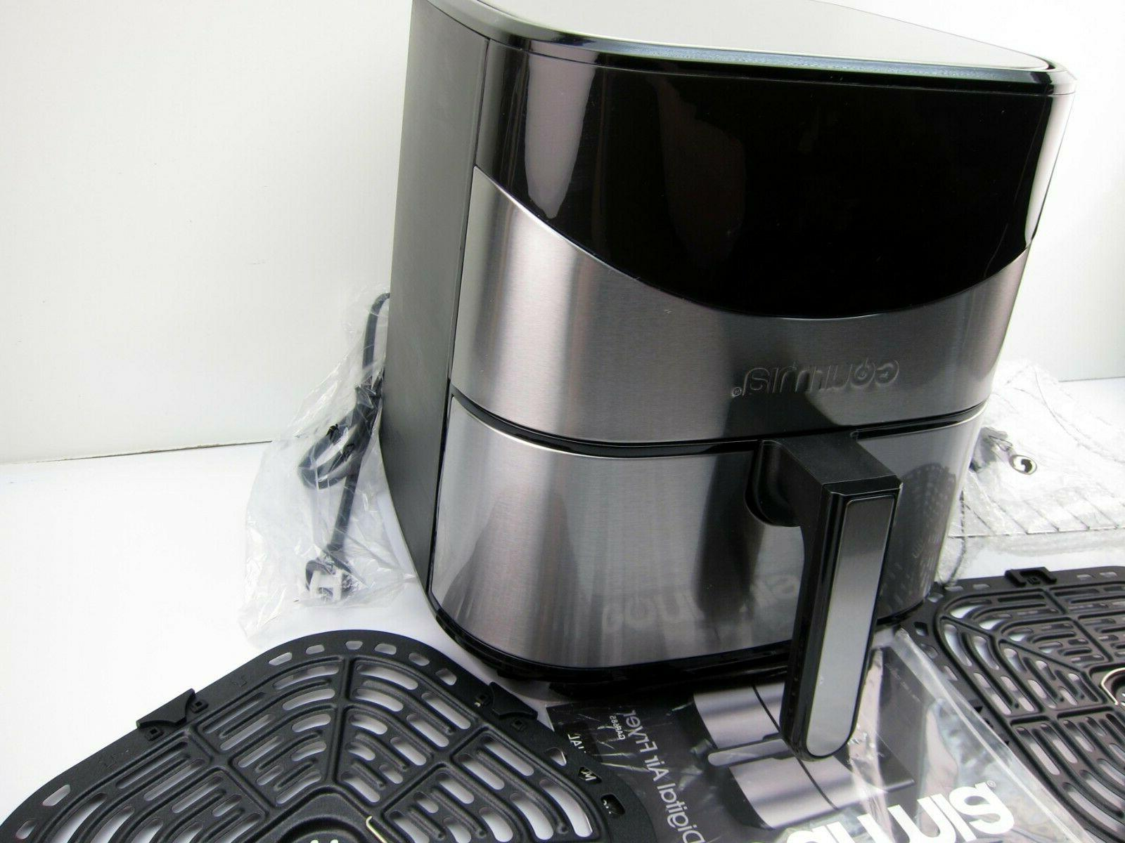 NEW Qt. Stainless Digital Air Fryer