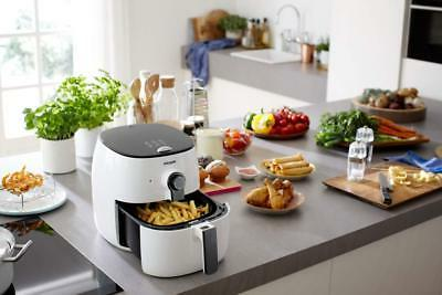 New Philips 1425W Multi-Cooker Airfryer White/Black