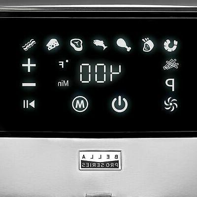 Bella - Pro 3.7 Digital Fryer - Steel