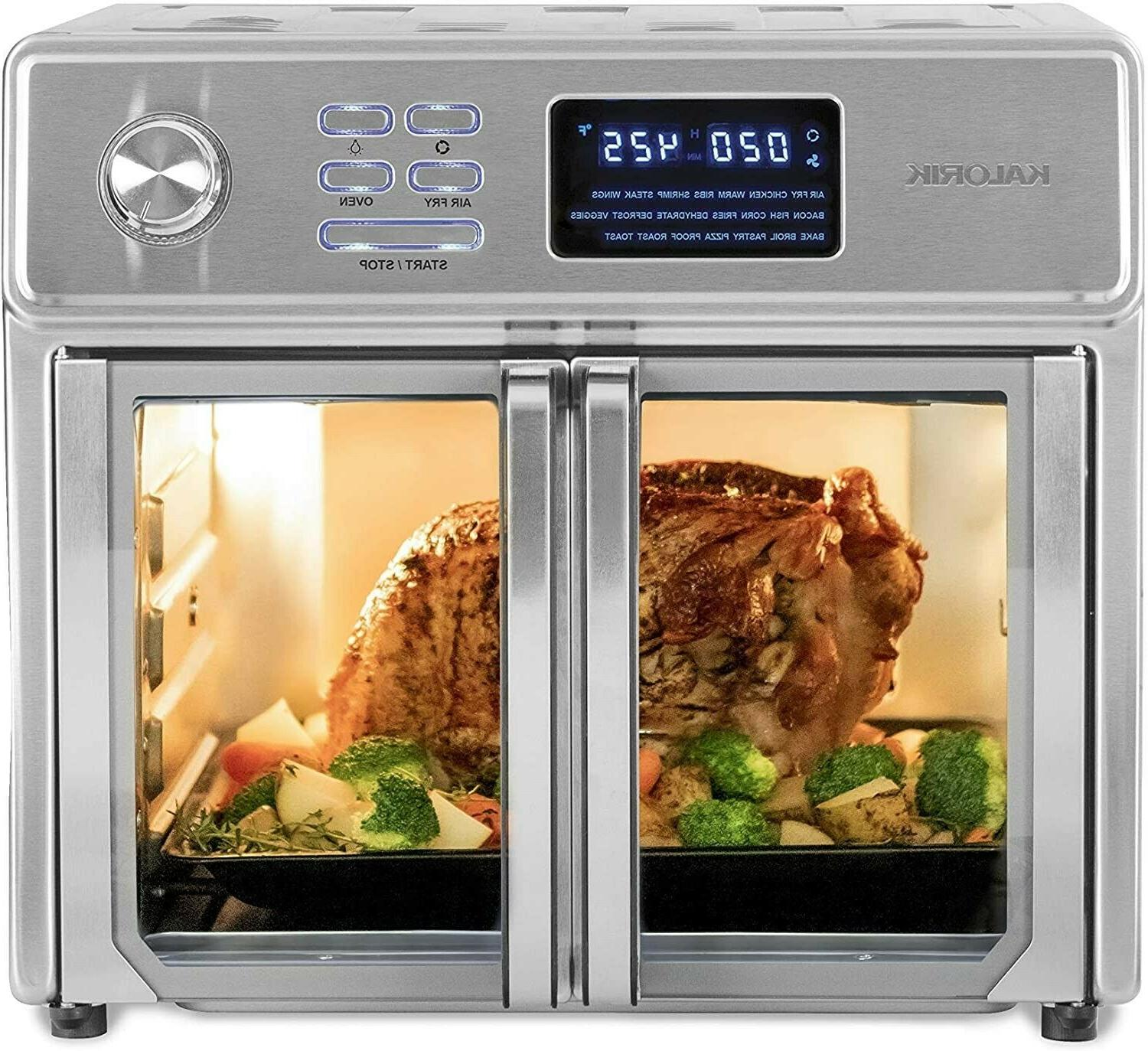 stainless steel maxx air fryer oven auto