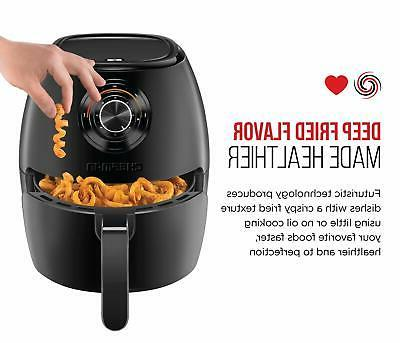 Chefman 3.6qt Analog Air Fryer -