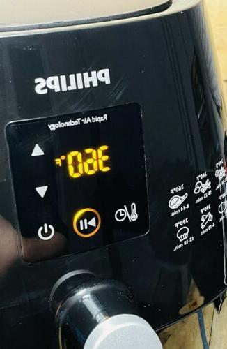Philips Digital Airfryer HD9230 Black