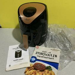 New Copper Chef 2QT Power Air Fryer 1000W Model YJ-803A