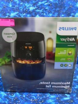 Philips Premium Digital Air Fryer Fat Removal Black 3 qt HD9
