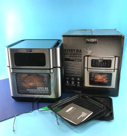 Bella Pro Series 10.5 qt. Digital Air Fryer 90089 Black/Stai