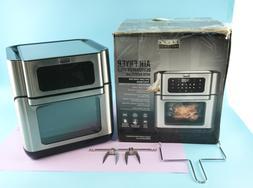 Bella Pro Series Digital Air Fryer 90089- Black/Stainless St