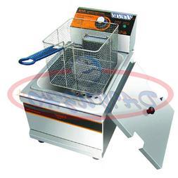 Single Cylinder 220V Electric Deep Fryer Frying Oven For Pot