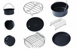 SOONHUA 6 in 1 Multifunctional Air Fryer Accessories Set Kit