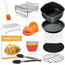 Square Deep Fryer Parts & Accessories Air 11 Pcs With Recipe