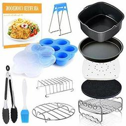 Deep Fryer Parts & Accessories Square Air 11 Pcs With Recipe