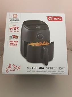 Dash Tasti Crisp Air Fryer 2.6 quart with recipe book