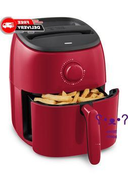 dash tasti-crisp express 2.6 quart air fryer - RED