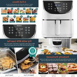 Cosori Xl 5.8Qt Electric Hot Air Fryers Oven Oilless Cooker,
