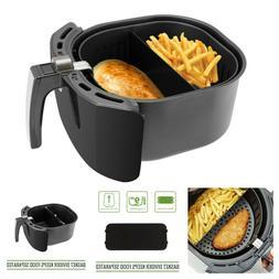 "XL Air Fryer Cooking Basket Divider for 9"" Air Fryer Baskets"