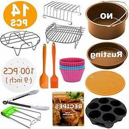 XL Deep Fryer Parts & Accessories Air Accessories, Set Of 14