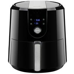 XL Digital Air Fryer 5.8QT/5.5L 1800W Temp/Timer Settings &
