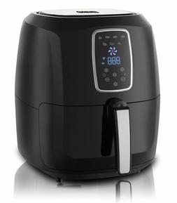 XL 5.5 QT Digital Electric Air Fryer with LED Touch Display-